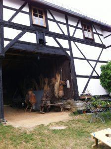 Das Bauernmuseum Nitzschareuth ist eine Art Familienbetrieb mit Gaststätte.