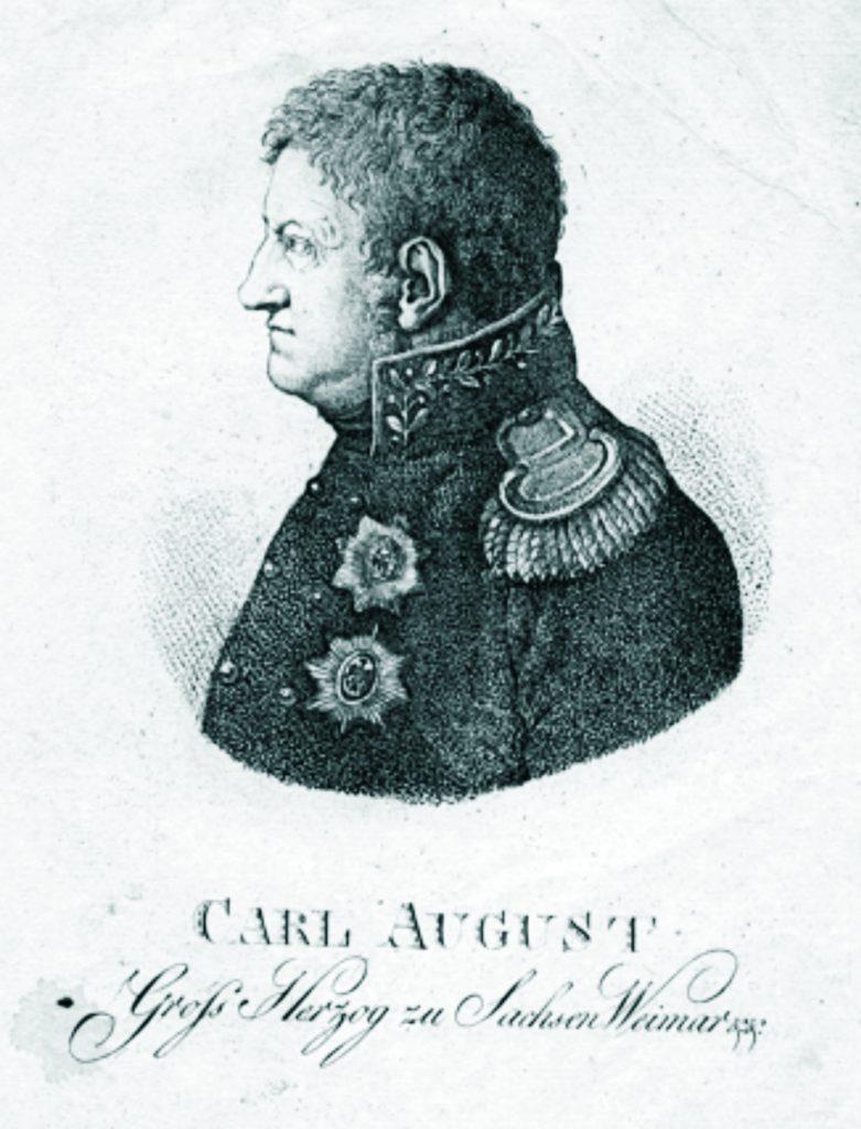 Carl August, Herzog zu Sachsen Weimar