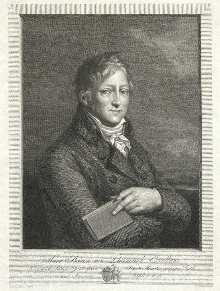 Im Hause von Hans Wilhelm von Thümmel fand im Altenburg des frühen 19. Jahrhunderts ein reger Teil des gesellschaftlichen Lebens statt.