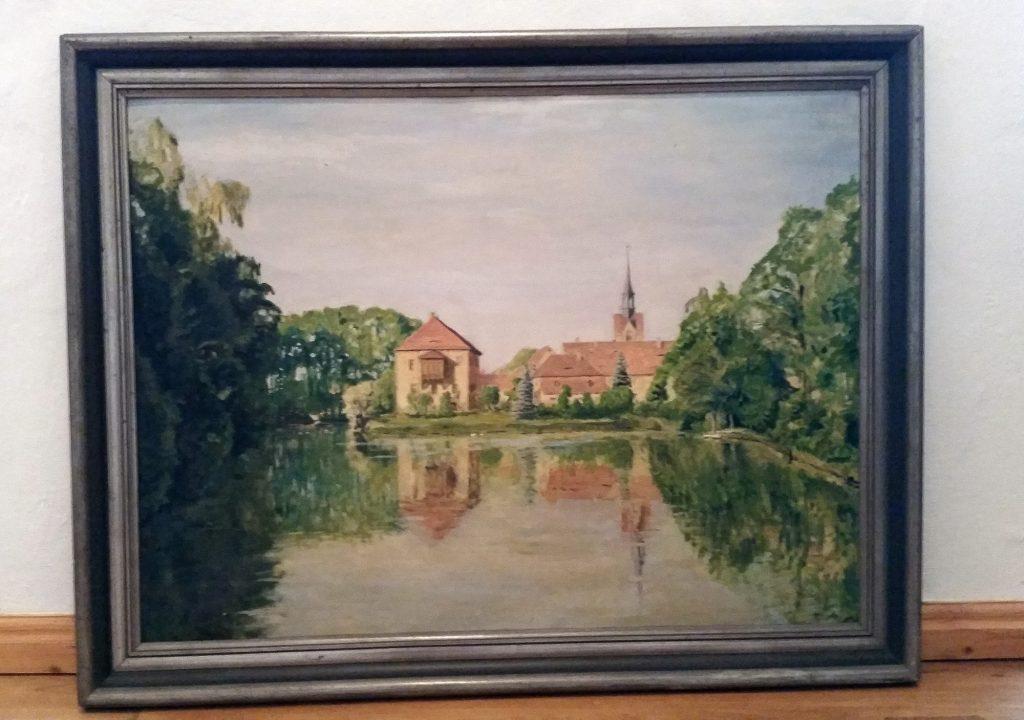 Das Ölgemälde malte der langjährige Nöbdenitzer Landarzt Dr. med. Gerhard Hermann Nordbeck.