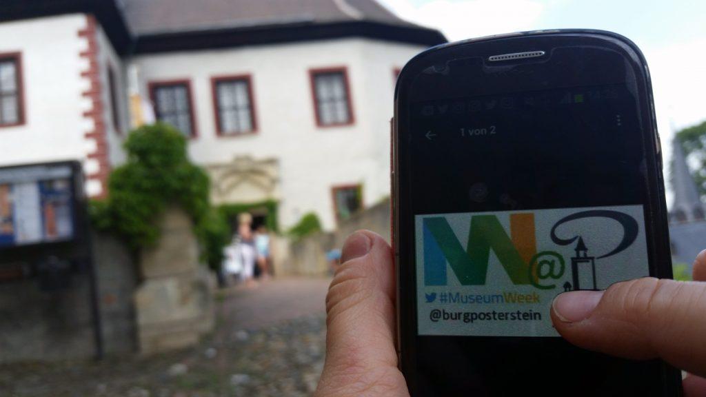 Über die Beteiligung an der MuseumWeek erreichen die Themen des Museums Burg Posterstein ein breiteres Publikum.
