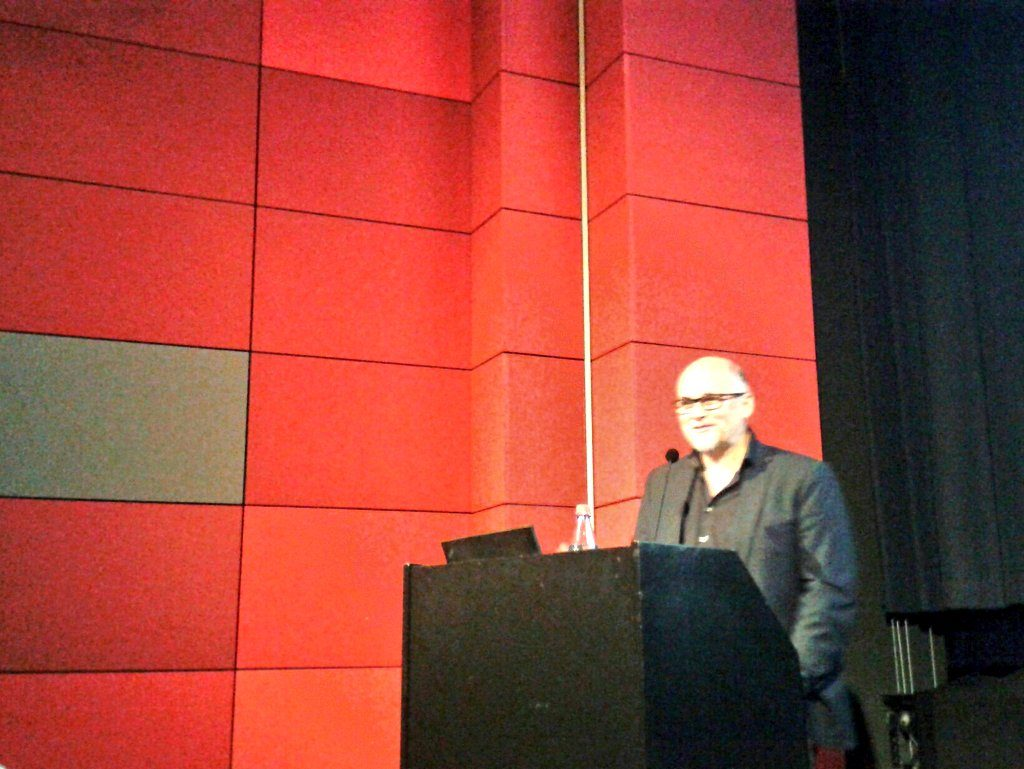 Was ist uns der digitale Besucher wert? fragte Christian Gries, der die Landesstelle für nichtstaatliche Museen in München in Sachen digitale Strategie berät.