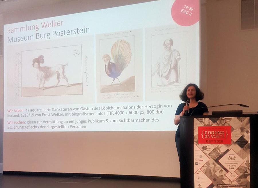 Unser erster Kultur-Hackathon: Die Sammlung Welker bei Coding da Vinci Ost in der Universitätsbibliothek Leipzig.