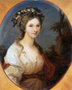 Die Herzogin von Kurland kam 1786 gemeinsam mit ihrem Mann nach Sanssouci und reiste dann weiter nach Italien.