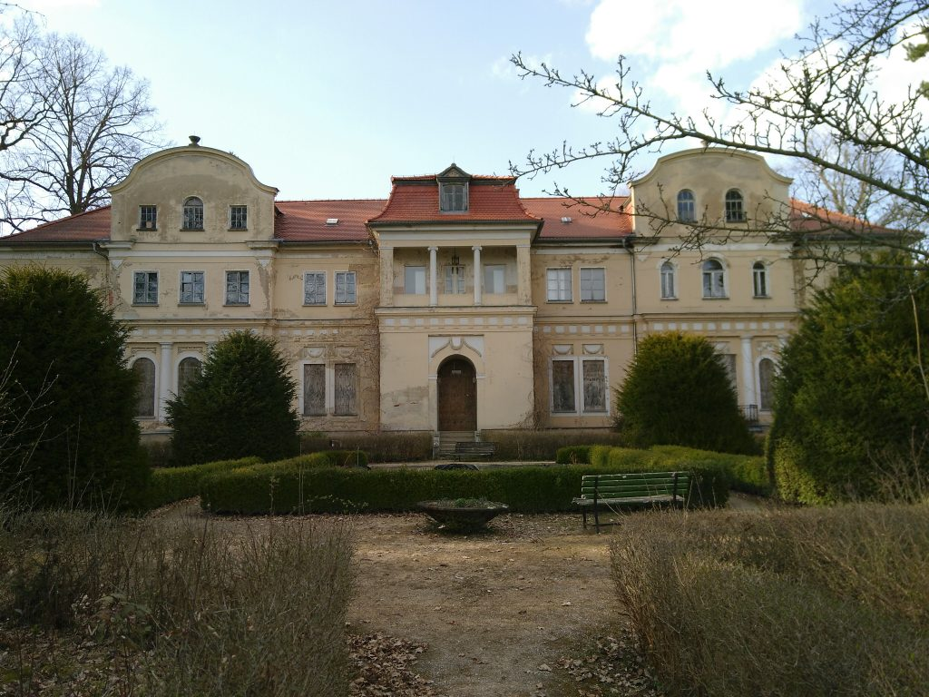Schloss Tannenfeld im Frühjahr 2018 (Foto: Marlene Hofmann):