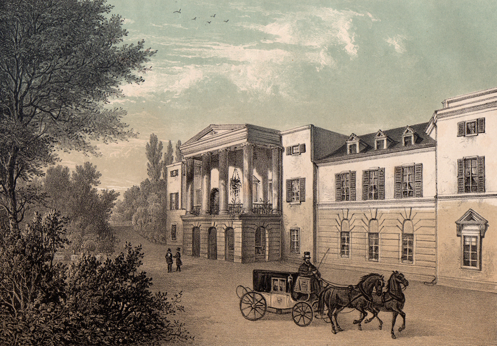 Der Salon der Herzogin von Kurland in Schloss Löbichau zählte zu den bekanntesten seiner Art.