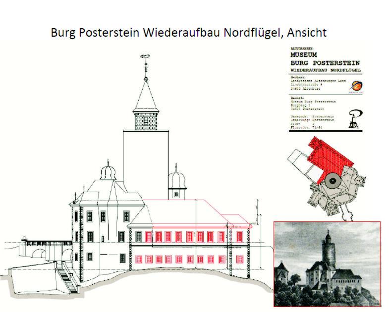 """Ein Konzept für den Wiederaufbau des seit 1953 fehlenden Nordflügels der Burg als """"Zentrum für europäische Salonkultur"""" gibt es - ob es umgesetzt wird, wird die Zukunft zeigen."""