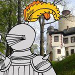 #Kinderburg: Wie haben Ritter Post verschickt?