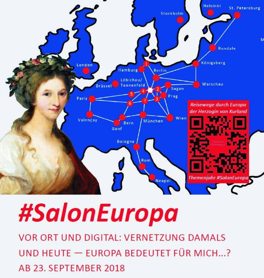 Wir suchen Unterstützung für das Labor #SalonEuropa vor Ort und digital