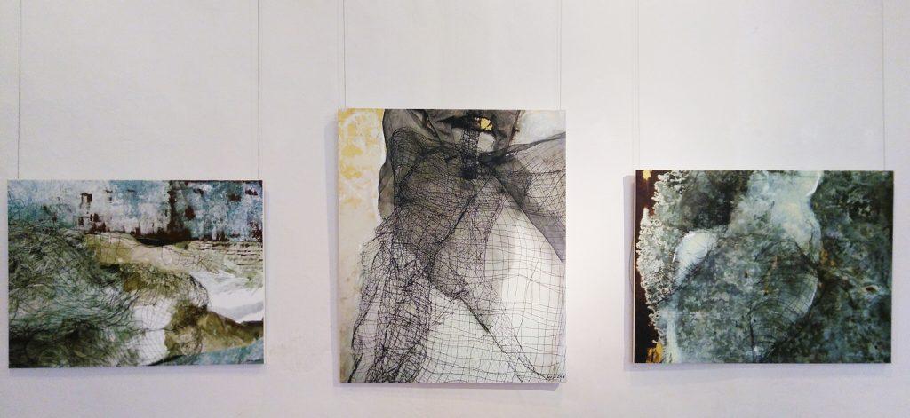 Marta Pabians Werke werfen Fragen zum Individuum in der Gesellschaft auf.
