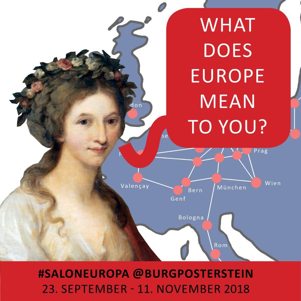 Das Museum Burg Posterstein möchte wissen: Was bedeutet Europa für Sie?