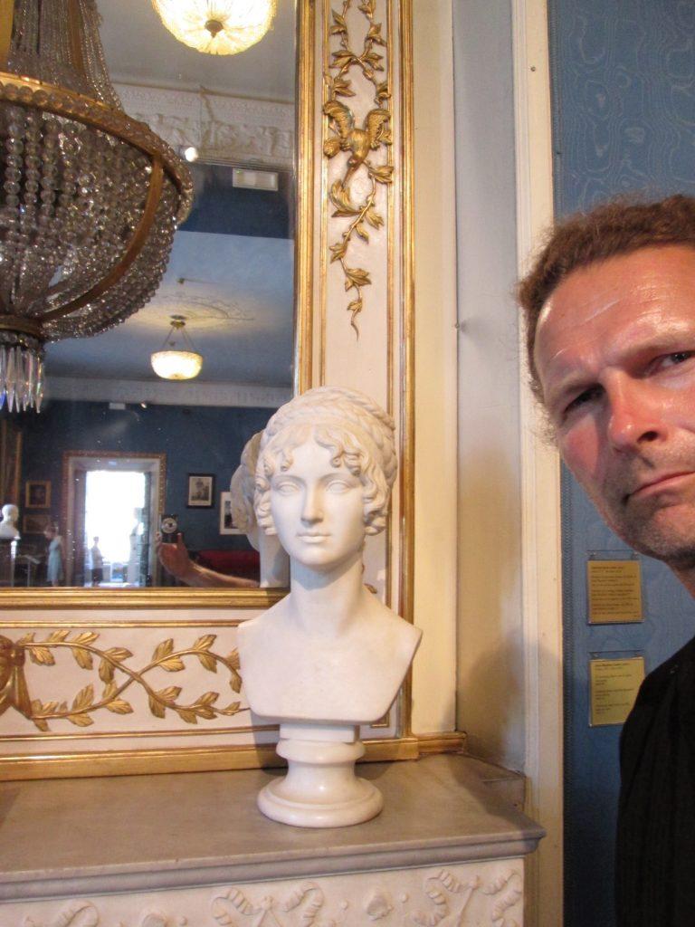 Museo Napoleonico, Rom, Italien Foto: Wolfgang Stöcker mit der Büste von Anna Dorothea von Kurlands Tochter Wilhelmine, hergestellt von Bertel Thorvaldsen