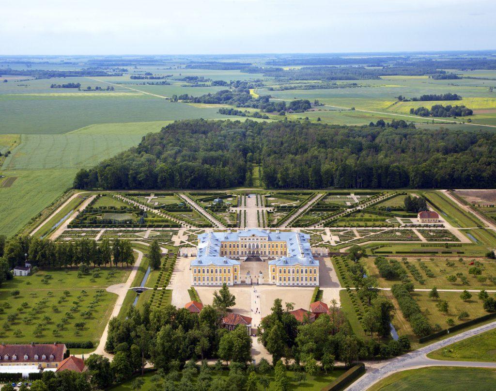 Schloss Ruhental (Rundāle), Lettland Foto: Imants Lancmanis/ Creative Museum