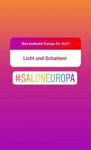 Europa bedeutet für dich? - Licht und Schatten