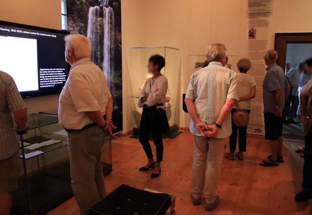 """Eröffnung der Ausstellung """"Von Schönhaide nach Südamerika"""" im Museum Burg Posterstein."""