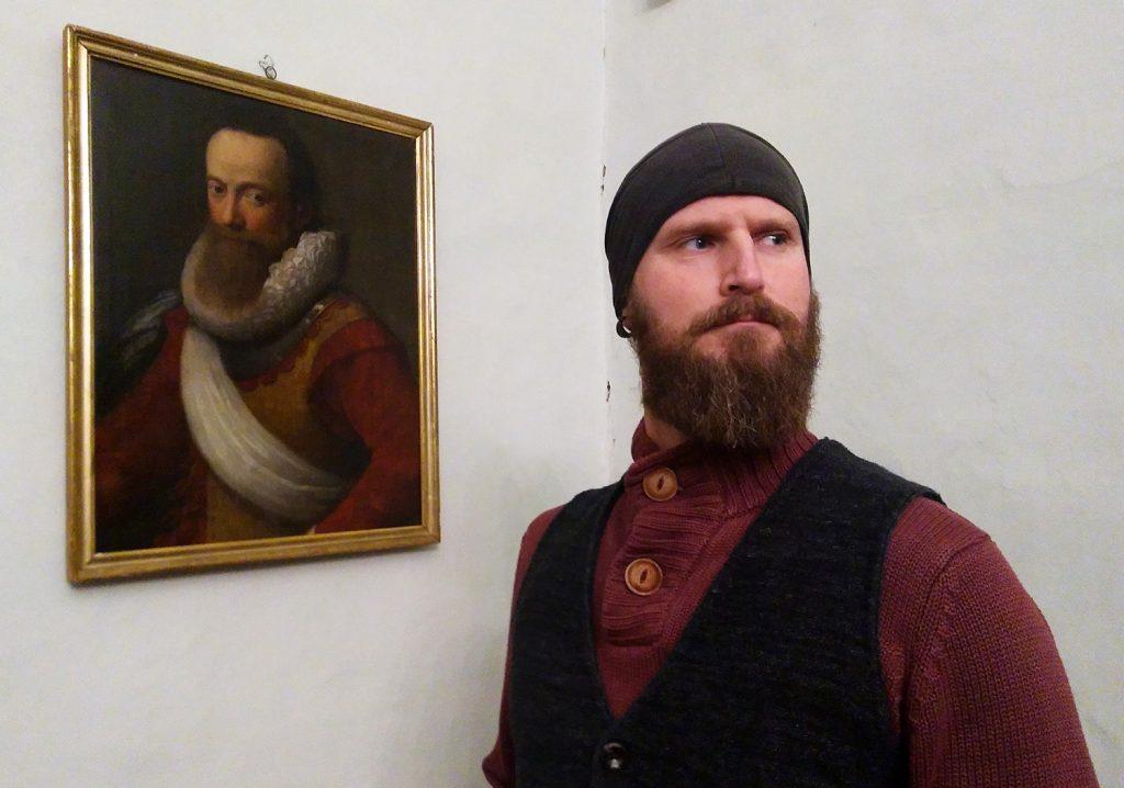 So könnte er ausgesehen haben - einer der Burgherren der Burg Posterstein.