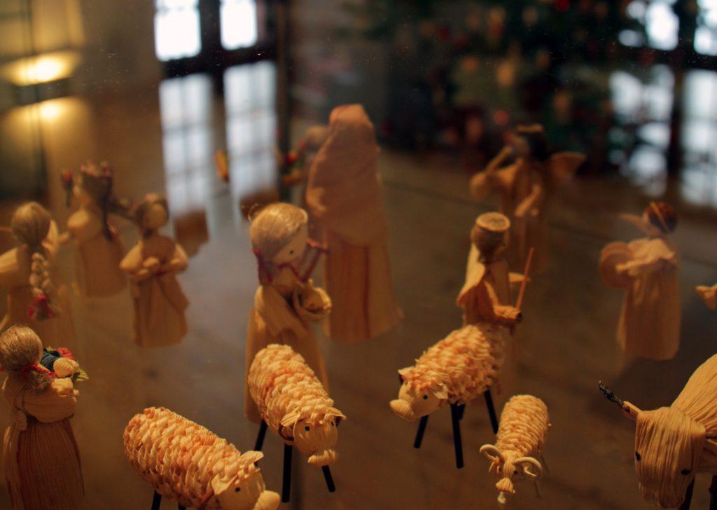 Weihnachtskrippen-Sammlung Museum Burg Posterstein