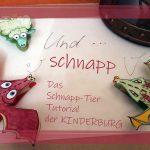 Bastel-Anleitung Klammer-Schaf Wendelin & Schnapp-Drache