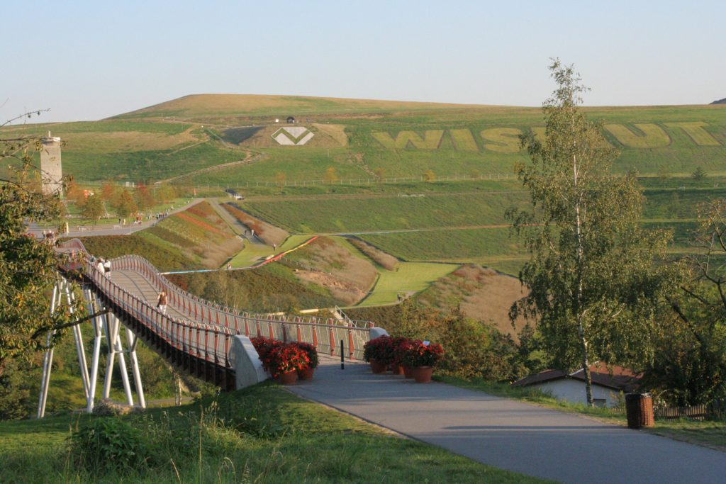 """Die """"Neue Landschaft Ronneburg"""" zur Bundesgartenschau 2007, © Petra Nienhold 2007"""