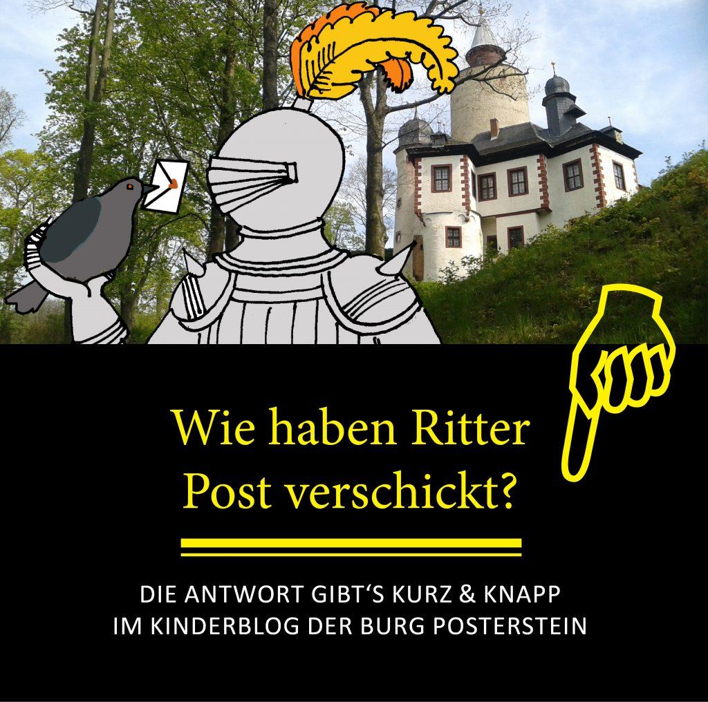Kinderburg - Wie haben Ritter Post verschickt?