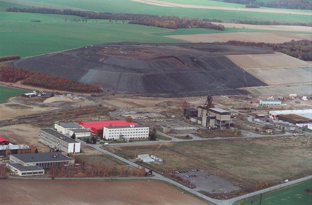 Sanierung der Halde Beerwalde ©Knut Lechner, 2002