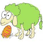 #Kinderburg: Spiel das Oster-Memo mit Schaf Wendelin