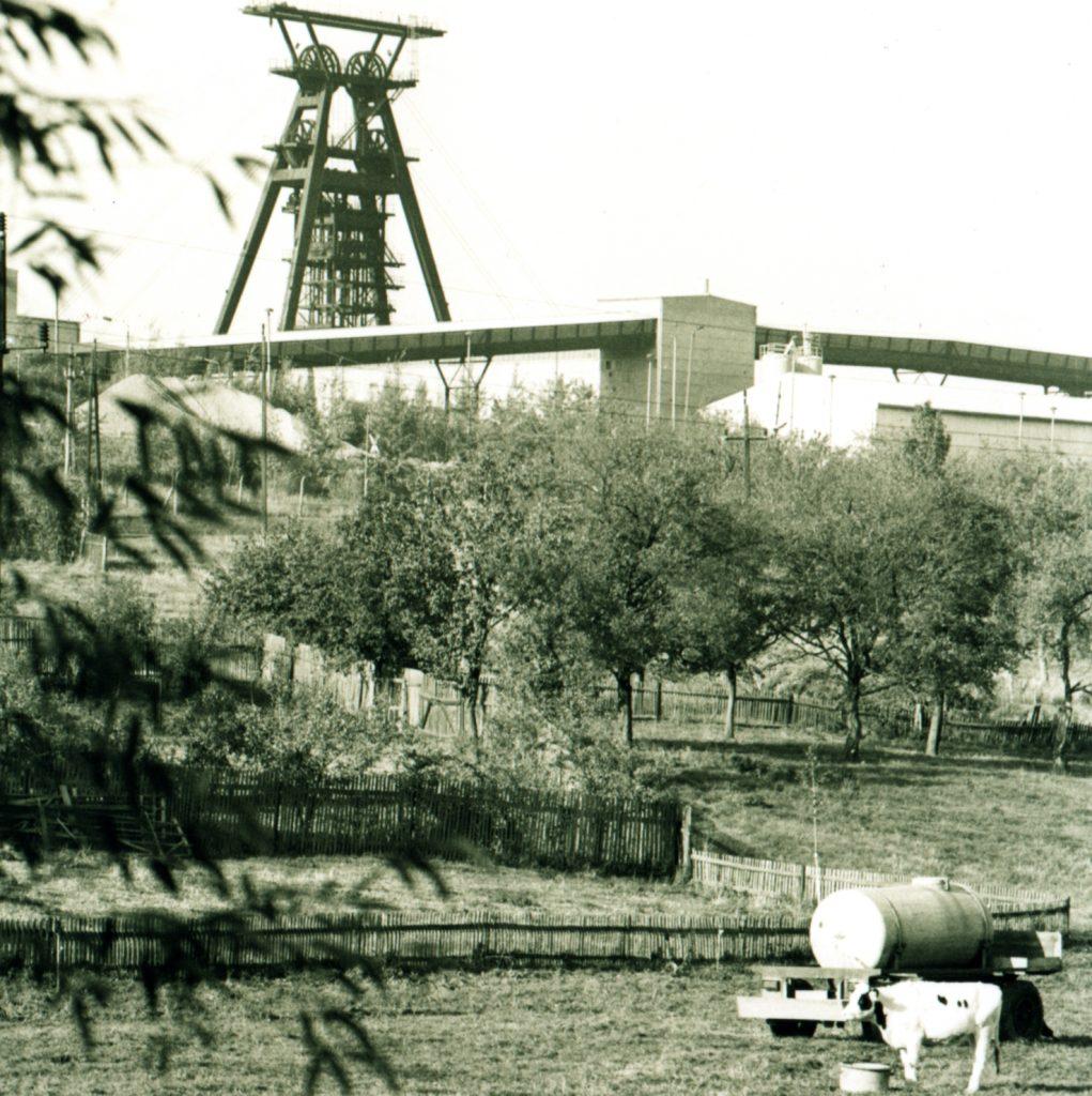 Löbichau, Schacht Drosen, 1990er Jahre ©Foto, Jens-Paul Taubert, Altenburg