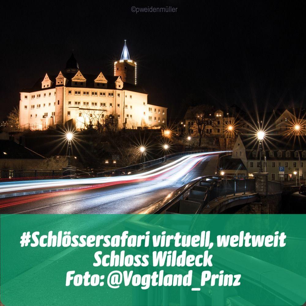 #Schlössersafari virtuell, weltweit: Schloss Wildeck fotografiert von Patrick Weidenmüller