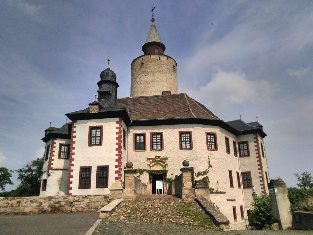 Burg Posterstein - seit 16. Mai 2020 nach der Corona-bedingten Schließung wieder geöffnet.