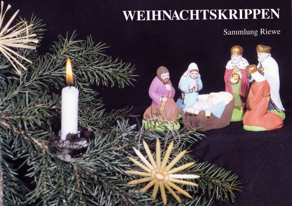 Deckblatt Katalog Weihnachtskrippen Sammlung Burg Posterstein
