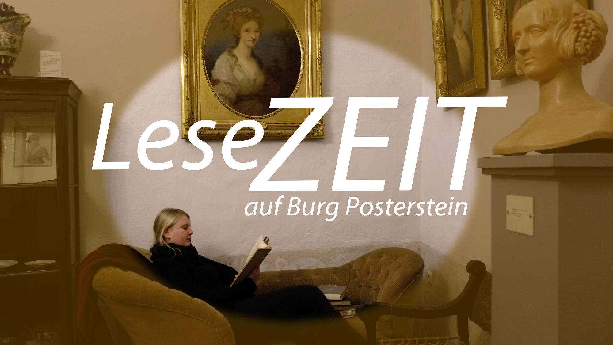 Banner Podcast LeseZEIT auf Burg Posterstein