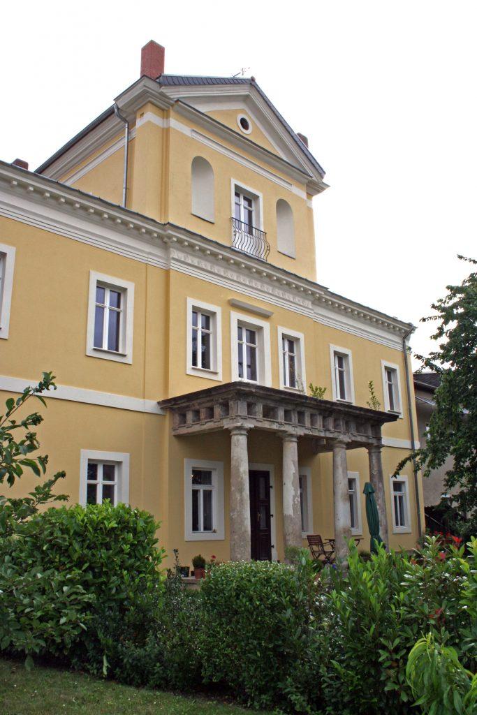 Parkseite des Thümmelschen Palais 2016 (Foto: Museum Burg Posterstein)